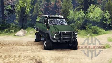 UAZ Patriot de Recogida para Spin Tires