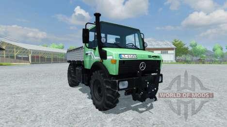 Mercedes-Benz Unimog 1450 para Farming Simulator 2013