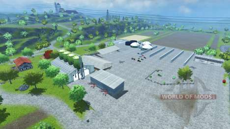 Bahlen Map para Farming Simulator 2013