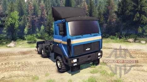 MAZ-642205 para Spin Tires