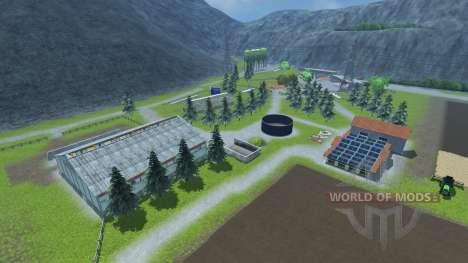 Pequeña granja para Farming Simulator 2013