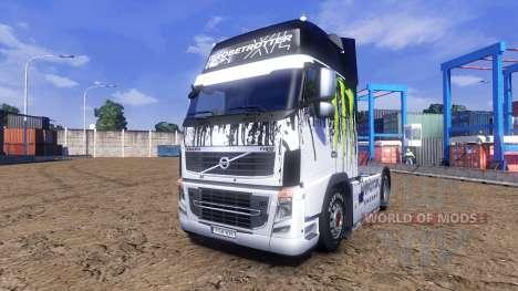 Color-Monster Energy - camión Volvo para Euro Truck Simulator 2