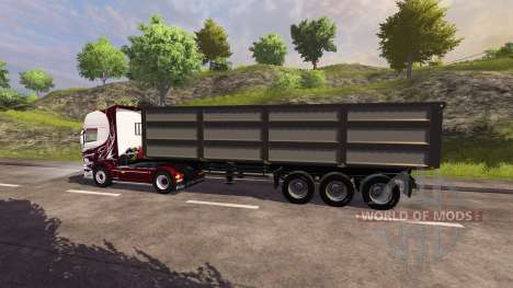 El Trailer De Kroger Agroliner para Farming Simulator 2013