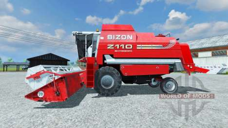 Bizon Z 110 red para Farming Simulator 2013