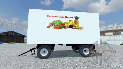 Trailer Koffer para Farming Simulator 2013