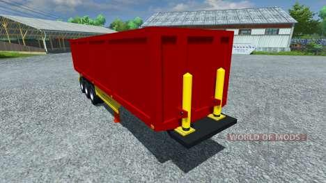 El semirremolque Schmitz ESQUÍ 50 para Farming Simulator 2013