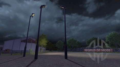 Poste de luz para Farming Simulator 2013