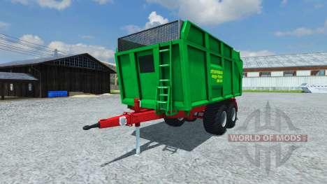 Прицеп Strautmann Mega-Trans-SMK 14-40 para Farming Simulator 2013