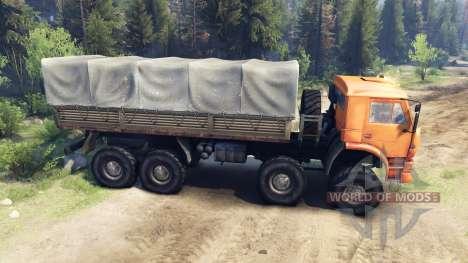 KamAZ-6560, nl para Spin Tires