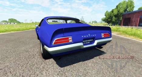 Pontiac Firebird 1970 para BeamNG Drive