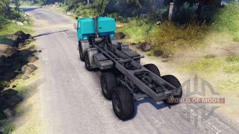 KamAZ-6350 para Spin Tires