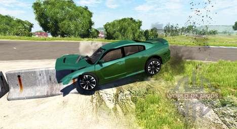 Dodge Charger SRT8 v2.0 para BeamNG Drive