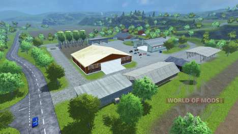 Sample Mod Map para Farming Simulator 2013