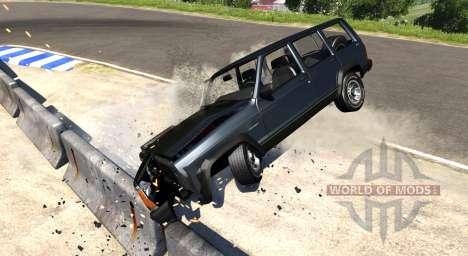 Jeep Cherokee 1984 para BeamNG Drive