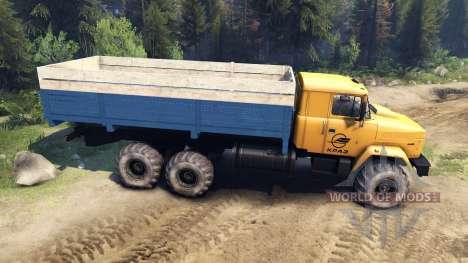 Kraz-6446 para Spin Tires