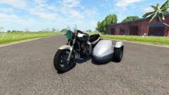 Ducati FRC-900 with a sidecar v4.0
