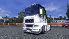 Color-Monster Energy - camión HOMBRE