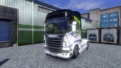 Color-Monster Energy - camión Scania
