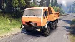 KamAZ-6520 volcado de camiones 6x6