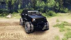 Jeep Cherokee XJ v1.3 Rough Country black