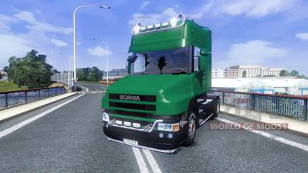 Scania T500 Mark 2 black parts para Euro Truck Simulator 2