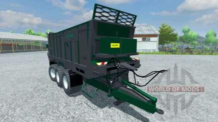 Trailer de Tebbe 320 HS para Farming Simulator 2013