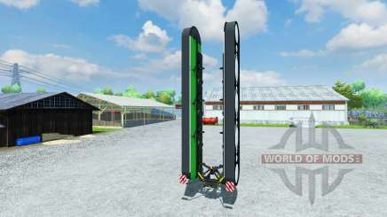 The cortacésped Deutz-Fahr 4.90 KM para Farming Simulator 2013