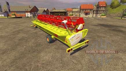 Cosechadora CLAAS 900 Vario 2008 para Farming Simulator 2013