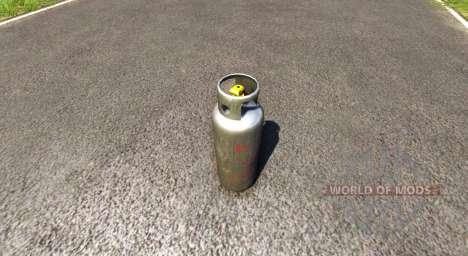 Tanque de gas propano para BeamNG Drive