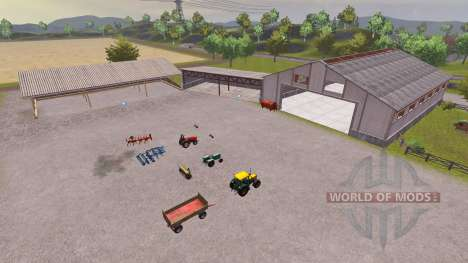 Orginal Pulen Map v1.01 para Farming Simulator 2013