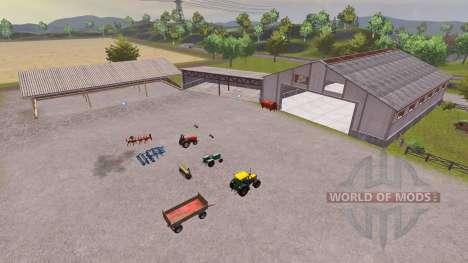 Orginal Pulen Map v1.01 para Farming Simulator 2013