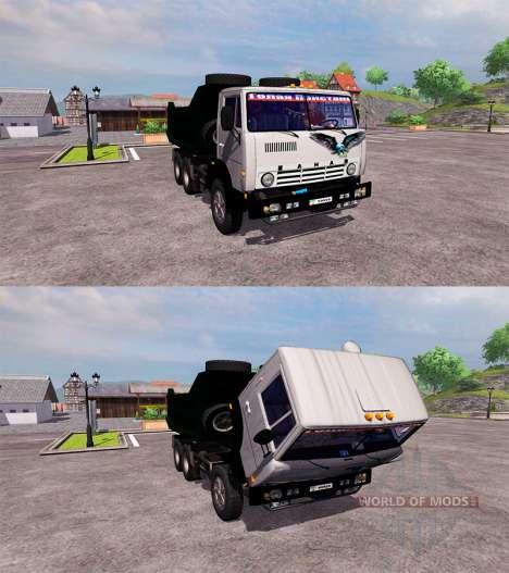 KamAZ-55111 para Farming Simulator 2013