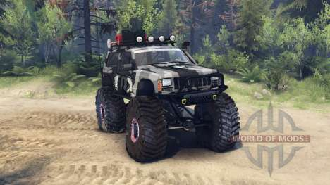 Jeep Cherokee XJ para Spin Tires