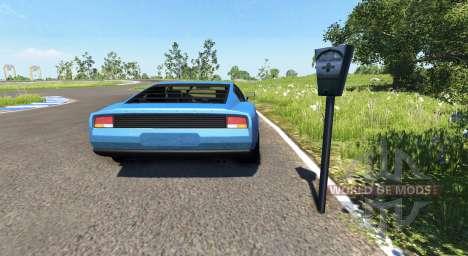 Los parquímetros para BeamNG Drive