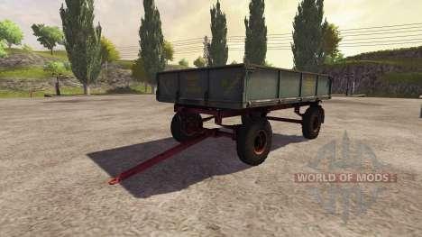 Trailer 2PTS-4 2009 v2.0 para Farming Simulator 2013