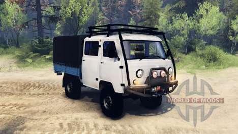 UAZ-390945 Agricultor para Spin Tires