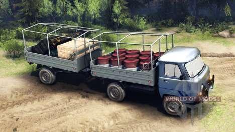 UAZ-29232 para Spin Tires
