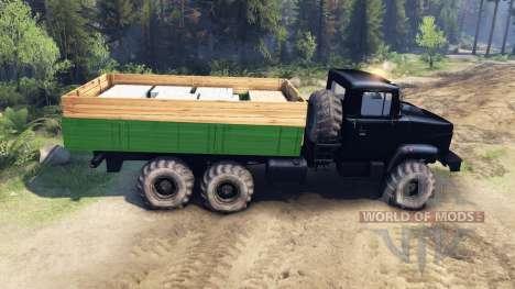 El KrAZ-6322 Tuning para Spin Tires