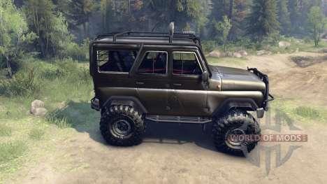 UAZ-hunter 315195 para Spin Tires