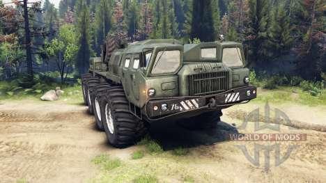 MAZ-7310 actualizado para Spin Tires
