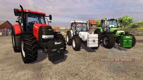 Se opuso a 800 kg para Farming Simulator 2013