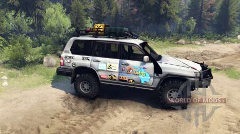 Toyota Land Cruiser 105 para Spin Tires