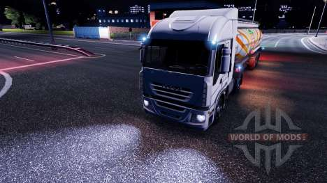 La luz de la mod para Euro Truck Simulator 2