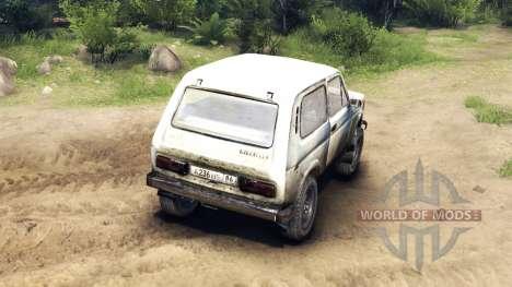 VAZ-2121 Niva v2.0 para Spin Tires