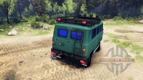 UAZ-3309 para Spin Tires