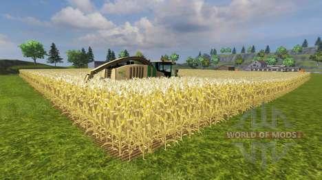 El aumento en el rendimiento de maíz para Farming Simulator 2013