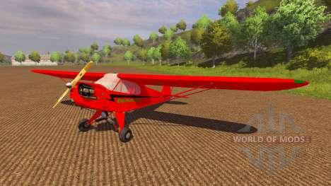 La Aeronave Piper J-3 Cub para Farming Simulator 2013