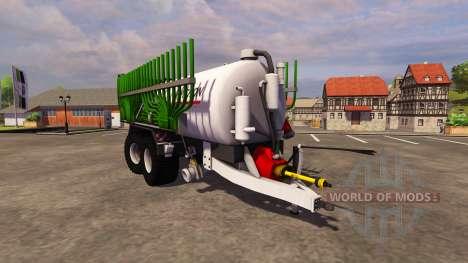 Trailer de Pichon Guellefass 19500i para Farming Simulator 2013