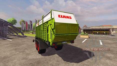 Trailer CLAAS Cuántica 6800S 2004 para Farming Simulator 2013
