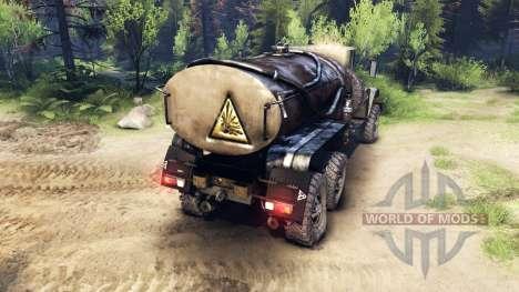 ZiS-5 actualizado para Spin Tires